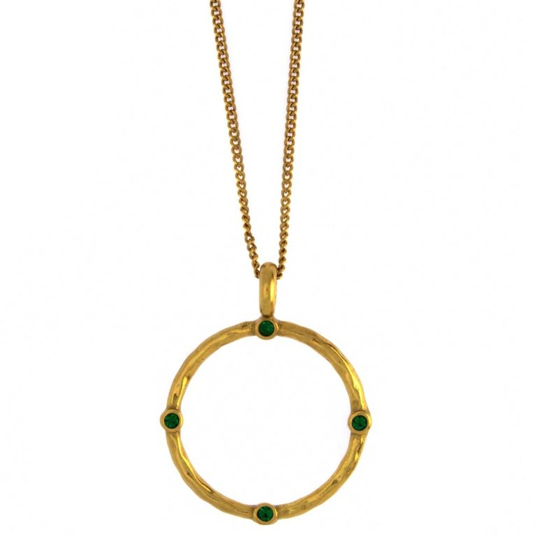 Hultquist Diala Long Necklace Gold 1533G