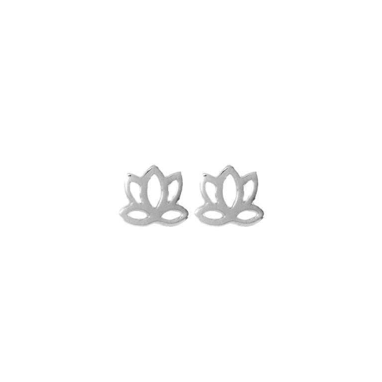 Hultquist Lotus Mini Stud Earrings Sterling Silver S03004S
