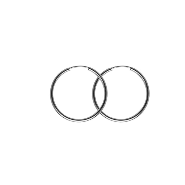 Hultquist Ane Hoop Earrings Sterling Silver S01019S