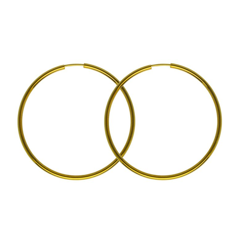 Hultquist Amira Hoop Earrings Gold S01022G