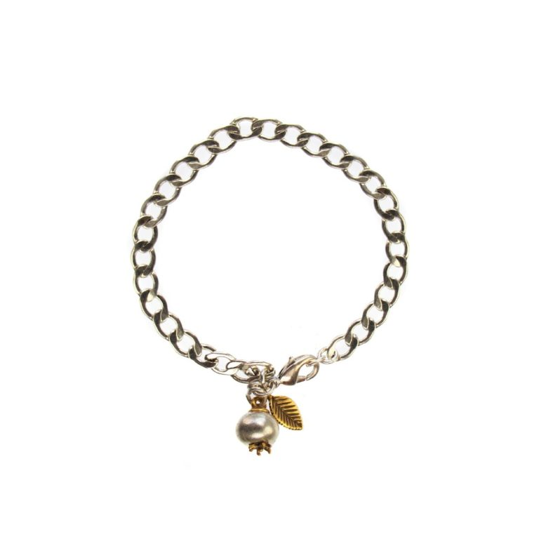 Hultquist Persimmon Chain Bracelet BiColour 04438BI