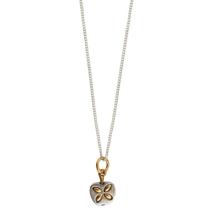Hultquist Apple Necklace BiColour 04490BI