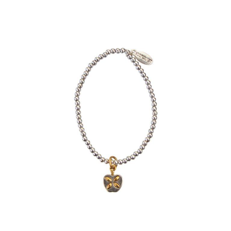Hultquist Apple Elastic Bracelet BiColour 04492BI