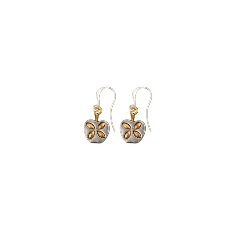Hultquist Apple Hook Earrings BiColour 04496BI
