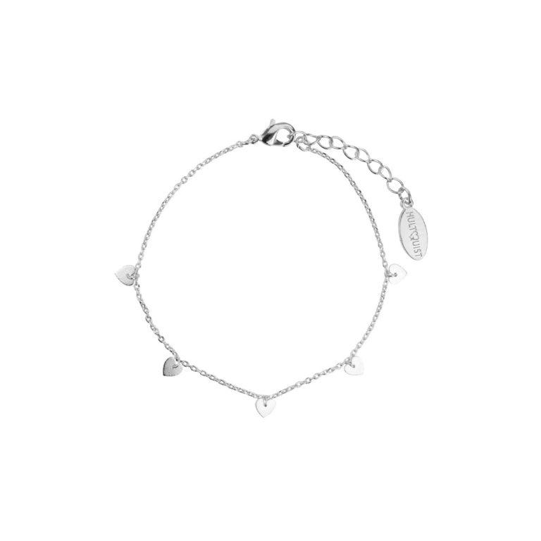 Hultquist Heart Bracelet Silver 61002S