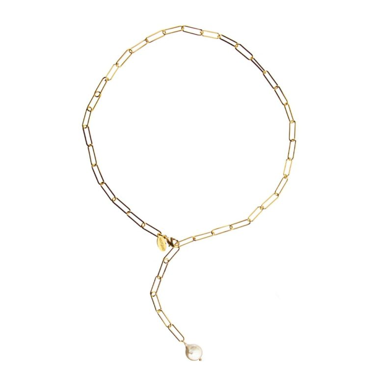 Hultquist Grace Necklace Gold 61010G