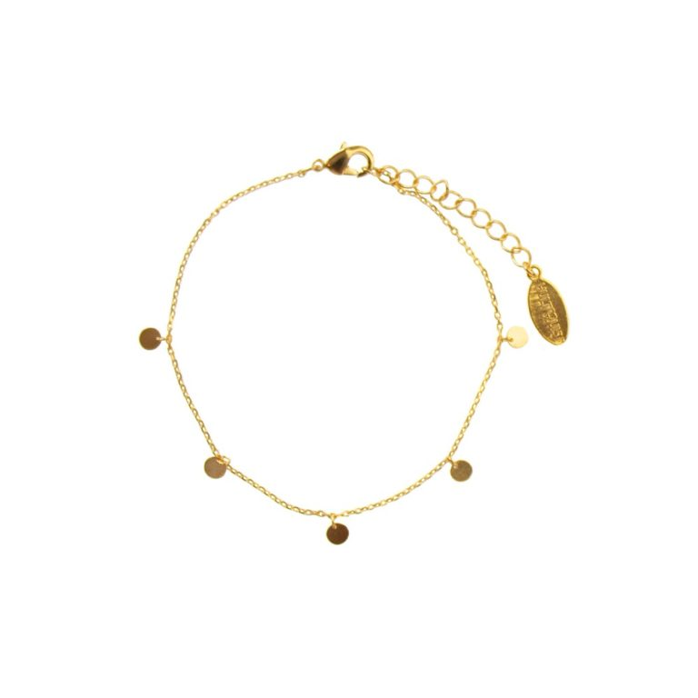 Hultquist Coin Bracelet Gold 61014G