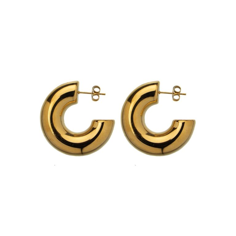 Hultquist Hannah Hoop Earrings Gold 62001G