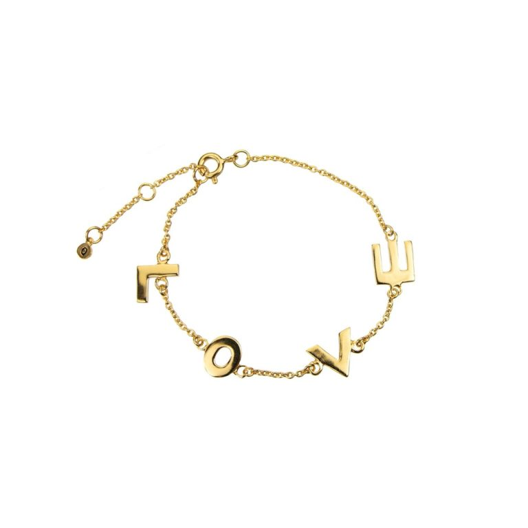 Hultquist Love Bracelet Gold