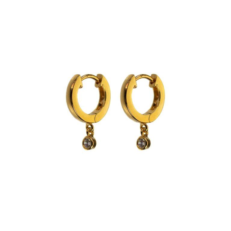 Hultquist Edina Earrings Gold S02055G