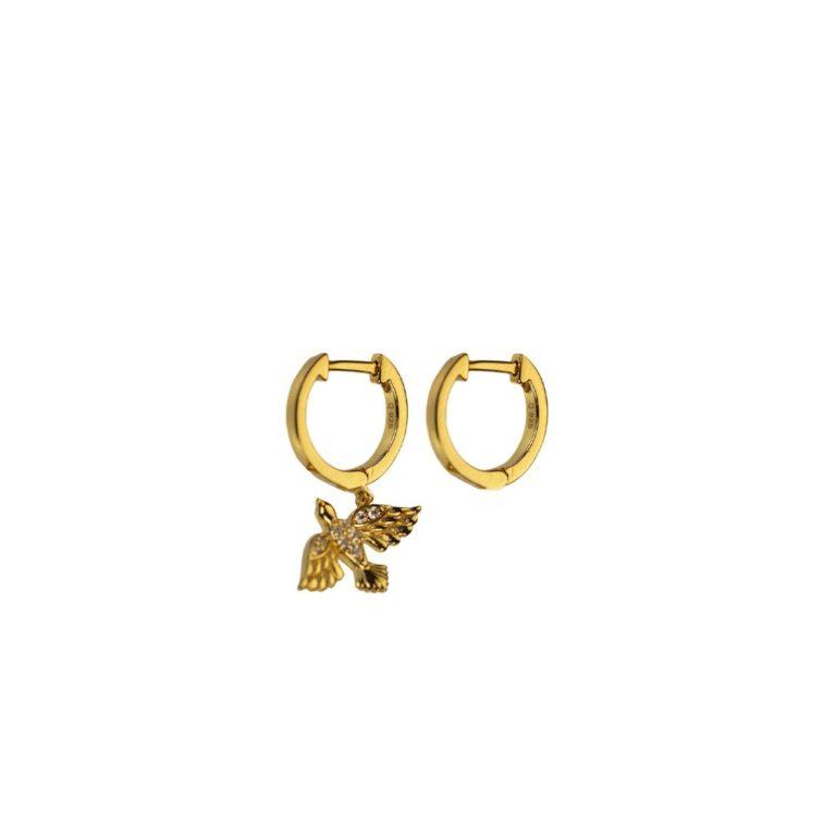 Hultquist Birdie Earrings Gold