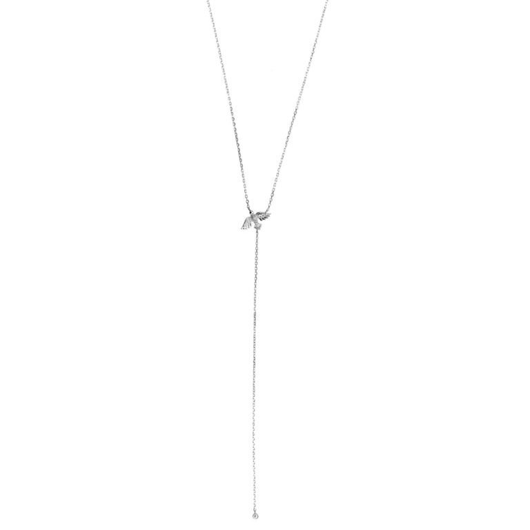 Hultquist Birdie Necklace Sterling Silver S05009S