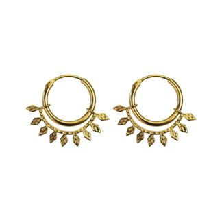 Hultquist Evy Earrings Gold S05010G