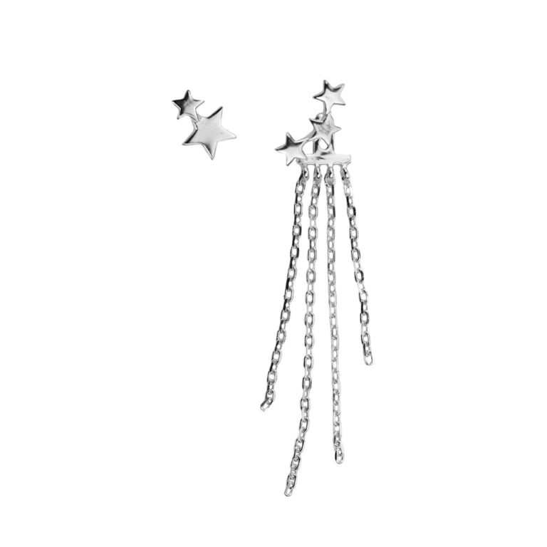 Hultquist Star Dust Earrings Silver S05011S