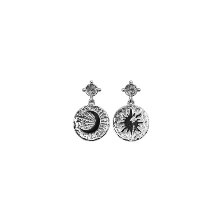 Hultquist Moonshine Earrings Sterling Silver S05015S
