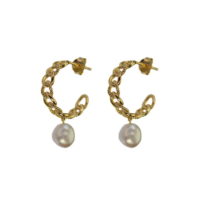 Hultquist Eleonora Earrings Gold