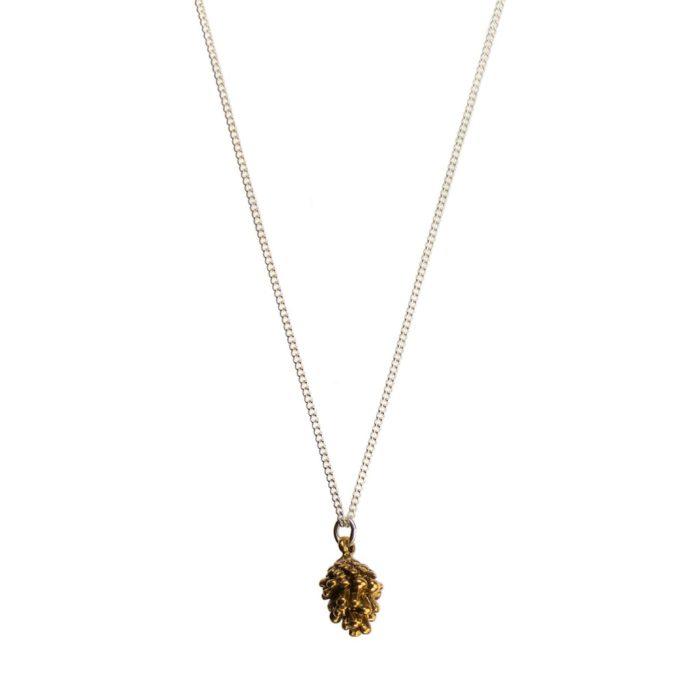 Hultquist Mini Pine Cone Necklace - BiColour 04471BI