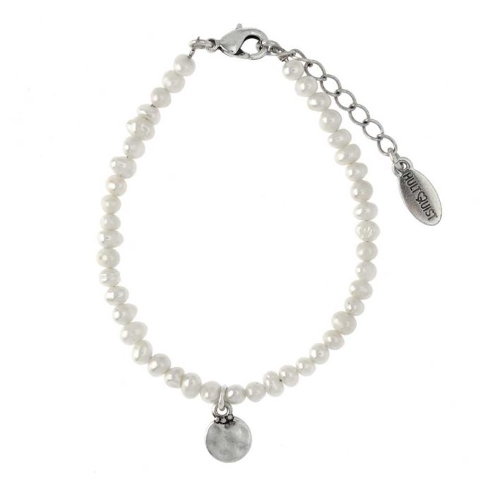 Hultquist Coin and Pearl Bracelet 04391S