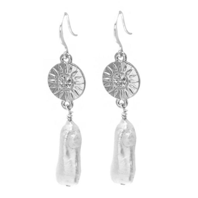 Hultquist Demi Earrings Silver 1524S