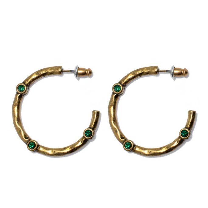 Hultquist Diala Hoop Earrings Gold 1534G