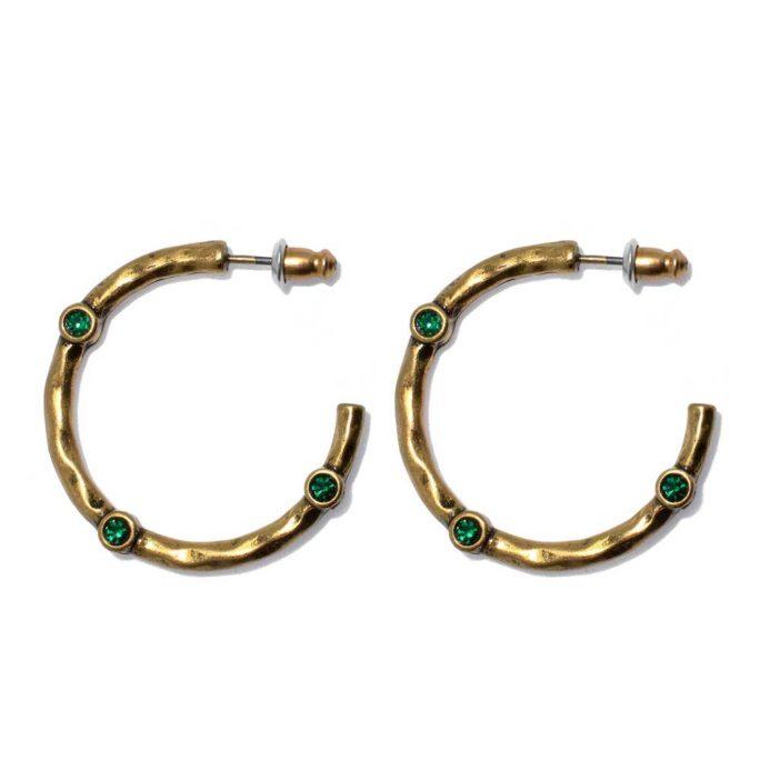 Hultquist Diala Hoop Earrings Gold 1534G