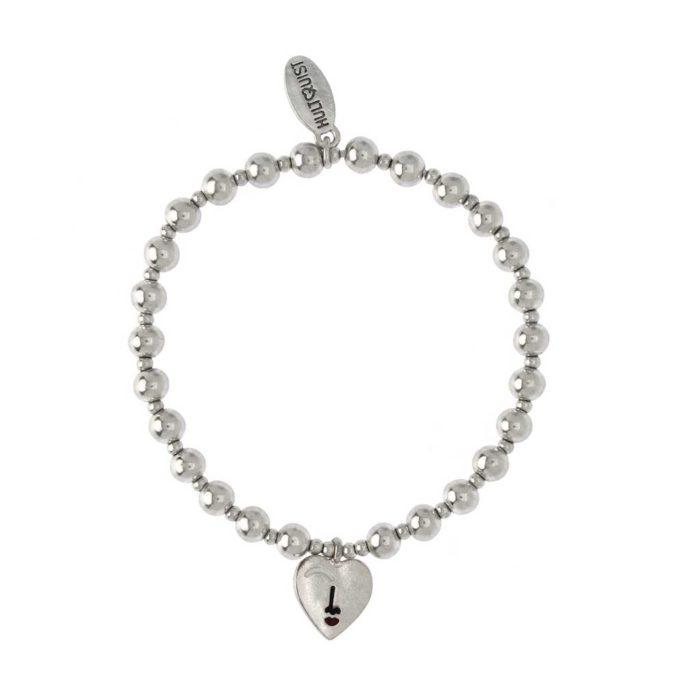 Hultquist Heart Bracelet Silver 1545S