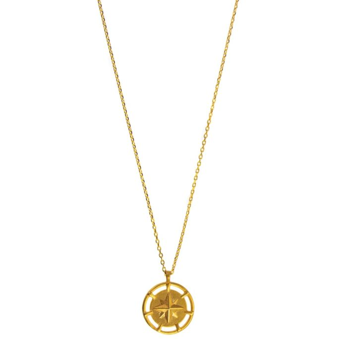 Hultquist Nordic Star Necklace Gold 61021G