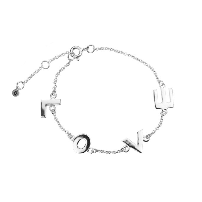 Hultquist Love Bracelet Sterling Silver S01028S