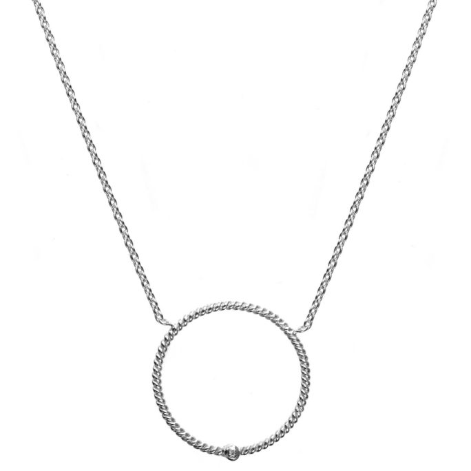 Hultquist Eloise Necklace Stering Sterling S02056-S