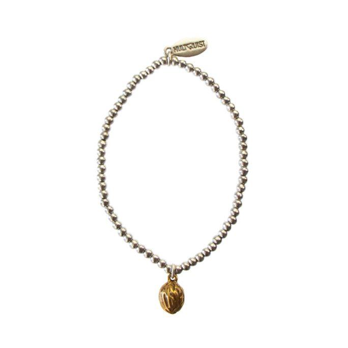 Hultquist Walnut Elastic Bracelet BiColour 04436BI