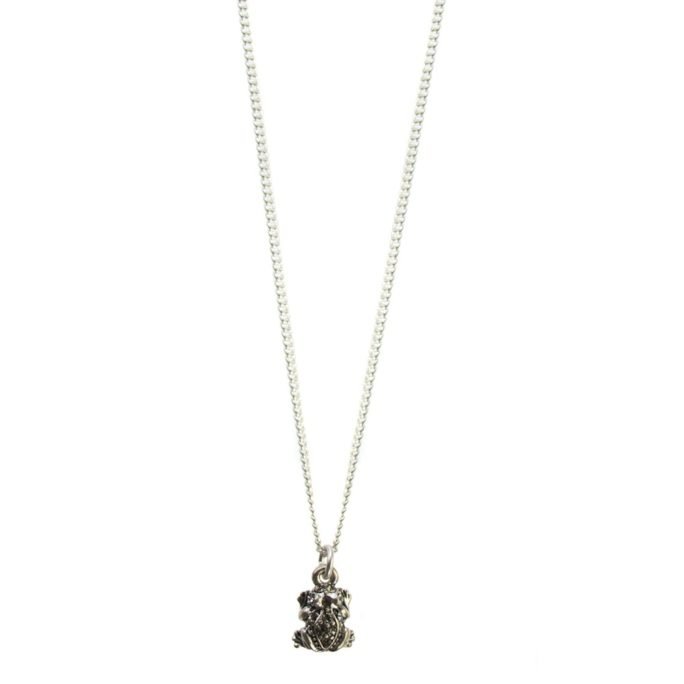 Hultquist Frog Necklace with Swarovski Crystals 04454S