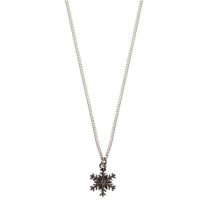 Hultquist Snowflake Necklace Silver 04475S