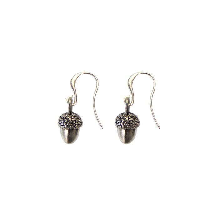 Hultquist Acorn Hook Earring Silver 04504S