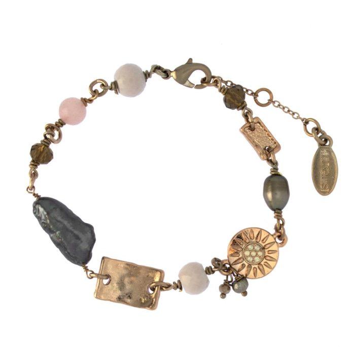 Hultquist Dana Charm Bracelet Rose Gold 1513RG