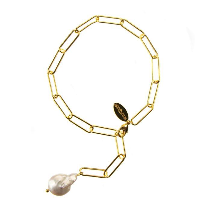 Hultquist Grace Bracelet Gold 61012G