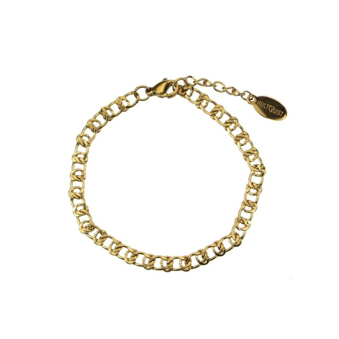 Hultquist Classic Chain Bracelet Gold 62008G