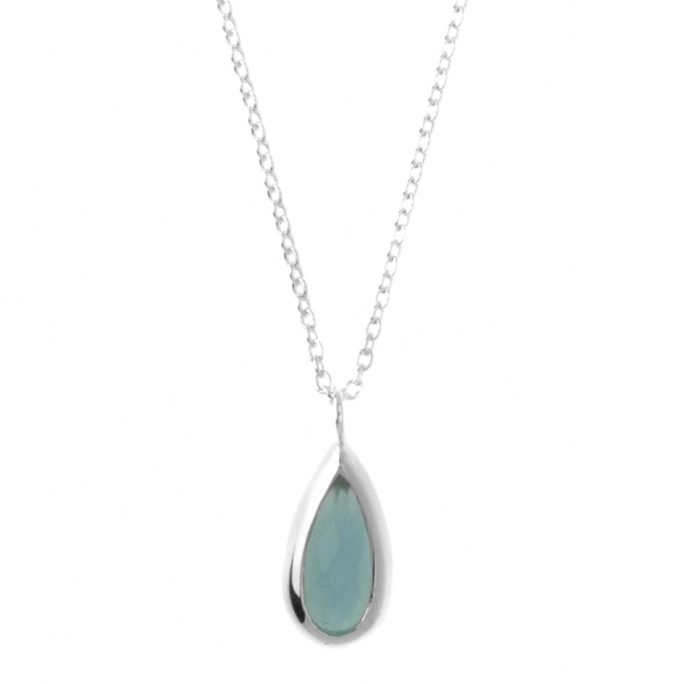 Hultquist Belle Necklace Sterling Silver S02034S-BL