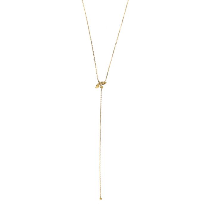 Hultquist Birdie Necklace Gold S05009G