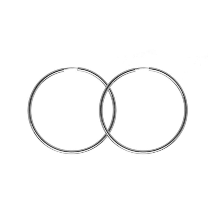 Hultquist Amina Hoop Earrings Sterling Silver S01021S