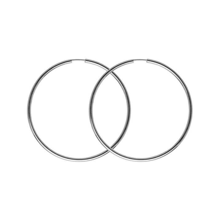 Hultquist Amira Hoop Earrings Sterling Silver S01022S