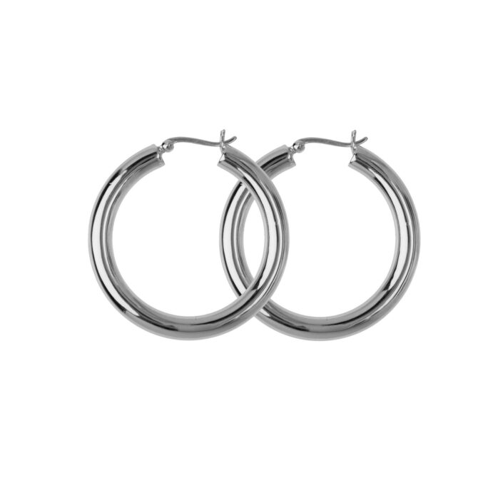 Hultquist Aurora Hoop Earrings Sterling Silver S01022S