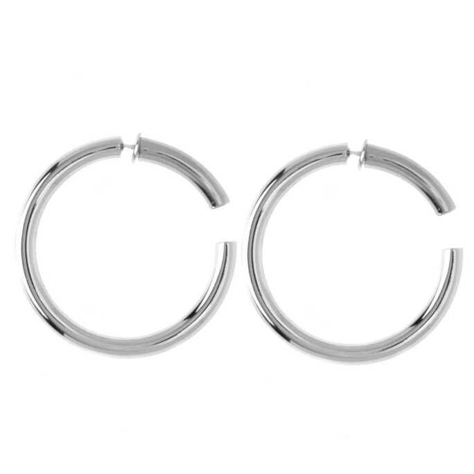 Hultquist Barbara Hoop Earrings Sterling Silver S01024S