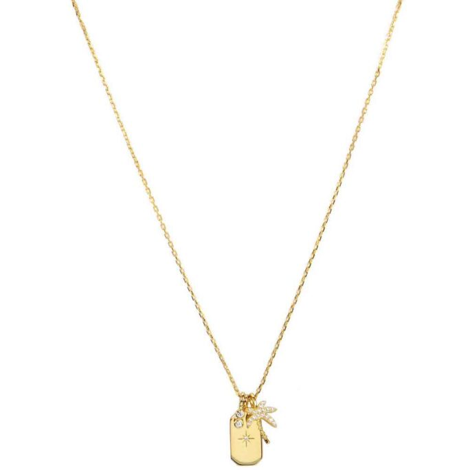 Hultquist Palm Tree Necklace Gold S05039G