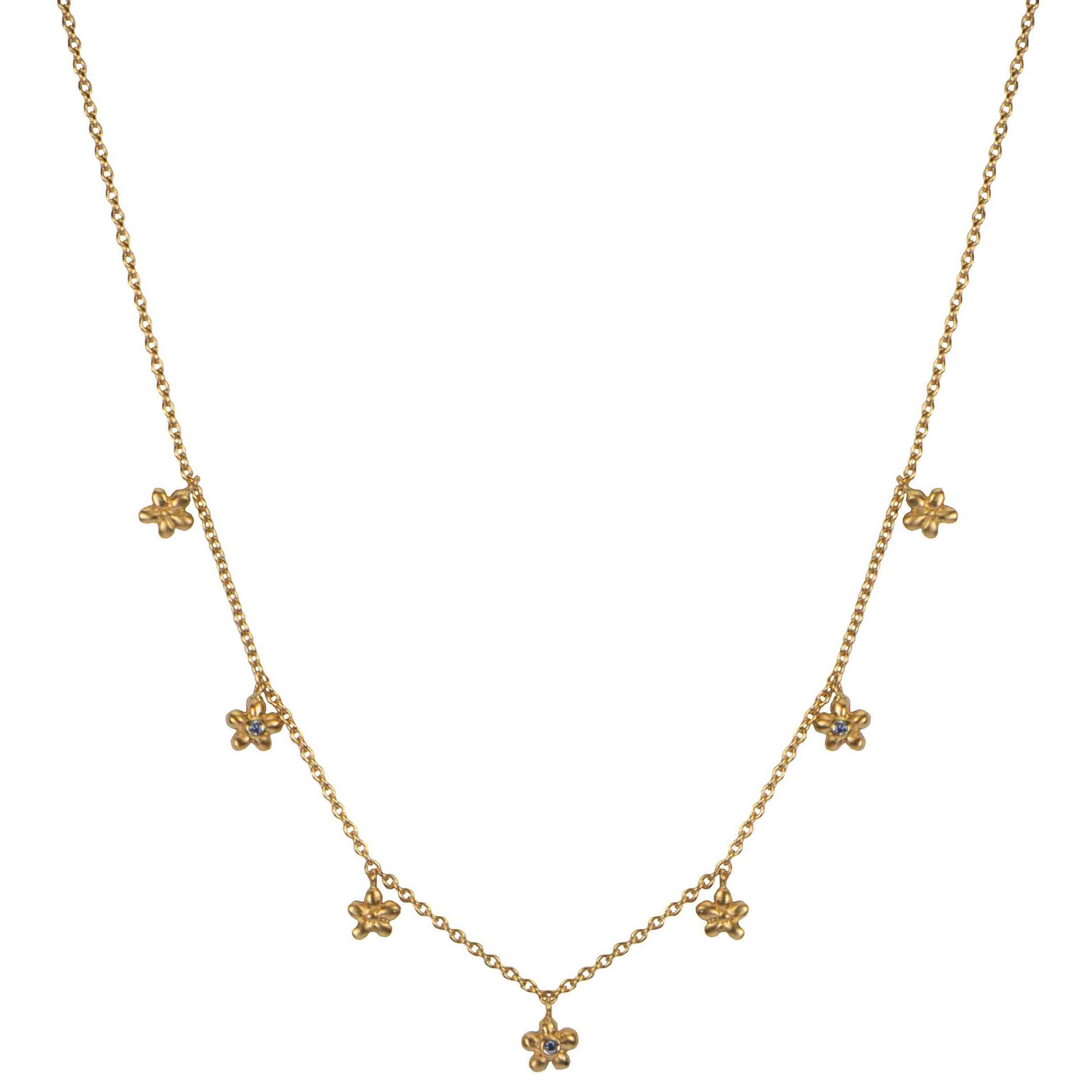 Hultquist Anthia Necklace Gold S02059G