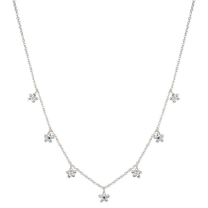 Hultquist Anthia Necklace Sterling Silver S02059S