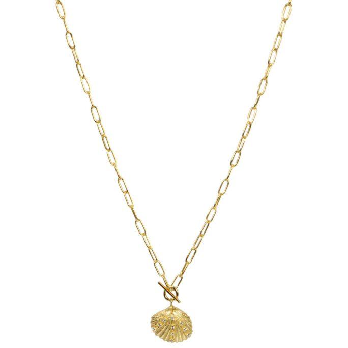 Hultquist Maurea Necklace Gold S05020G