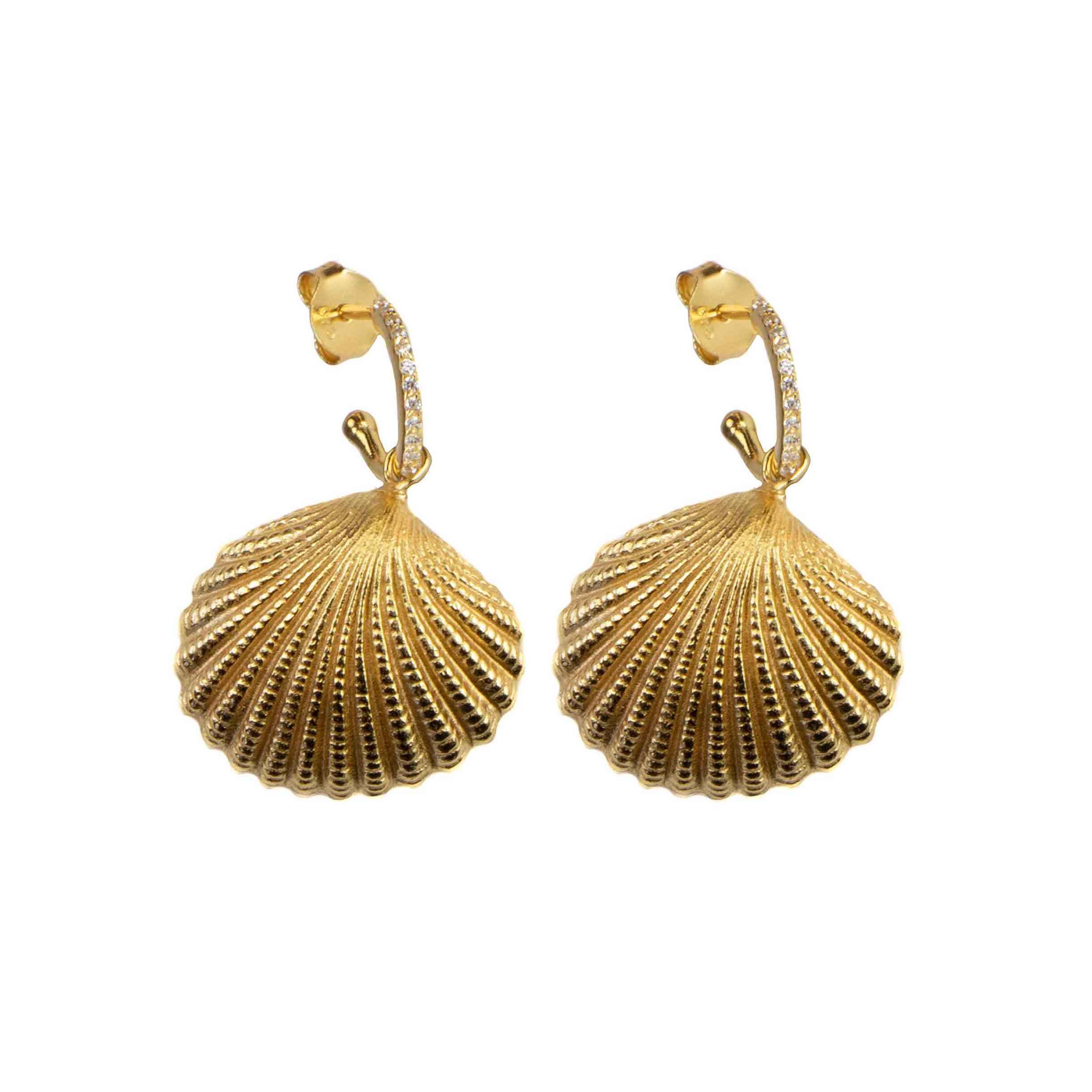 Hultquist Maurea Earrings Gold S05021G