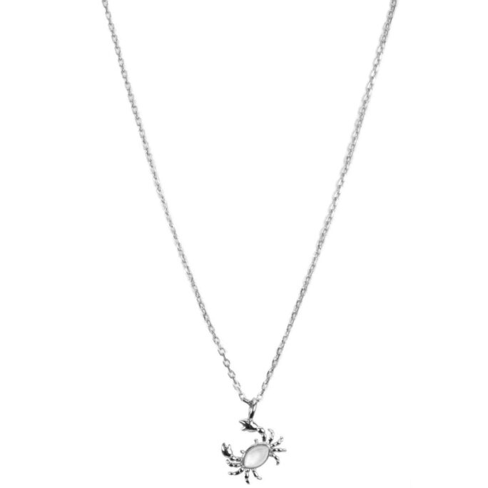 Hultquist Crab Necklace Sterling Silver S05022S