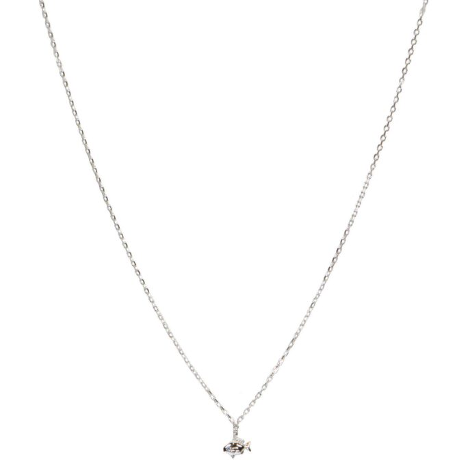 Hultquist Little Fish Necklace Sterling Silver S05042S