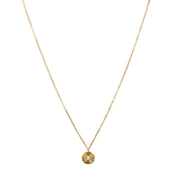 Hultquist Daria Necklace Gold S05032G